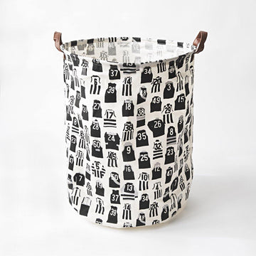 Vintage Football Jumpers Laundry Hamper