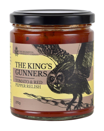 TRCC King's Gunners Tomato & Red Pepper Relish