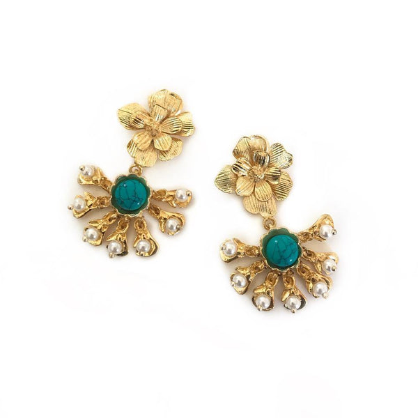 Zoda Earrings - Valencia