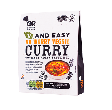 Gordon Rhodes No Worry Veggie Curry
