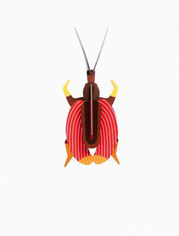 Studio Roof - Wall Decoration Insects Small - Violin Beetle
