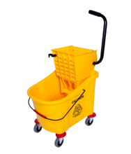 Load image into Gallery viewer, Bucket Wringer on Wheels- 31L