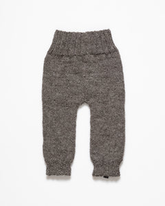 Dark grey alpaca wool pants