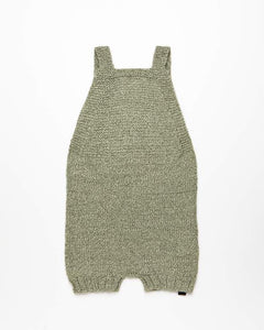 Light green alpaca wool romper