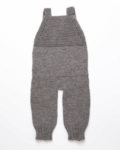 Medium grey baby playsuit