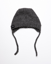 Load image into Gallery viewer, Dark grey alpaca wool hat