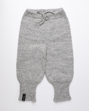 Load image into Gallery viewer, Light grey high waist baby pants