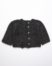 Load image into Gallery viewer, Dark grey alpaca wool jumper