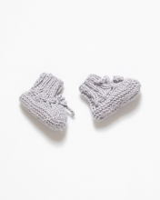 Load image into Gallery viewer, Alpaca yarn and silk fibre baby boots