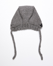 Load image into Gallery viewer, Medium grey alpaca wool hat