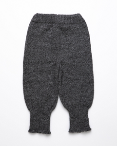 Dark grey high waist baby pants