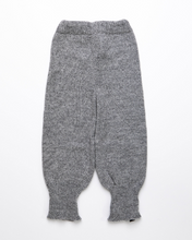 Load image into Gallery viewer, Medium grey high waist baby pants