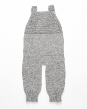 Load image into Gallery viewer, Light grey alpaca wool romper