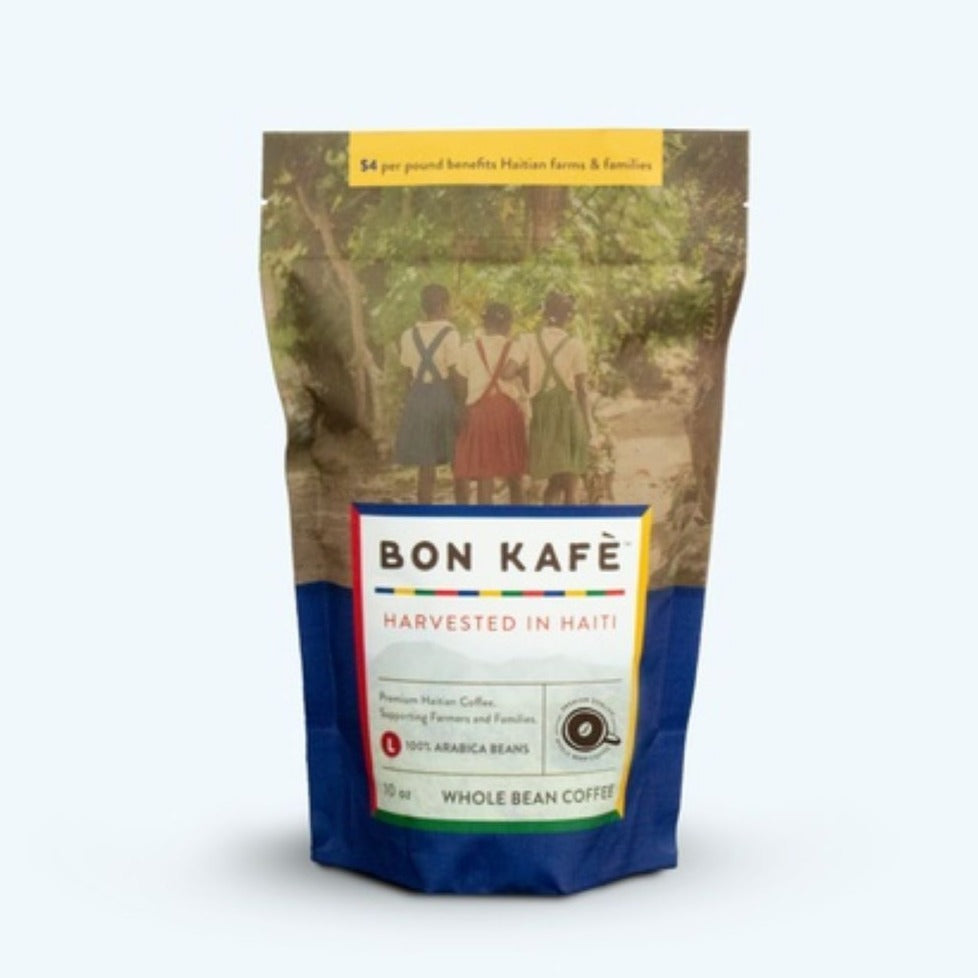 Bon Kafe Premium Roasted Whole Bean 100% Arabica Coffee