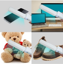 Load image into Gallery viewer, Foldable UV Light Sanitizer Wand ($14.50 each, 6 in case)