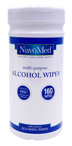 Multi-Purpose Alcohol Wipes  ($8.40 each, 40 canisters per order)
