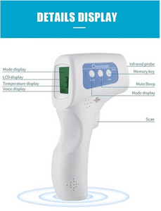 Temporal Infrared Thermometer  - Order 5 FREE SHIPPING