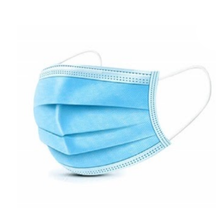 3 Ply Face Masks Disposable - 100 Pack (26¢ per piece)