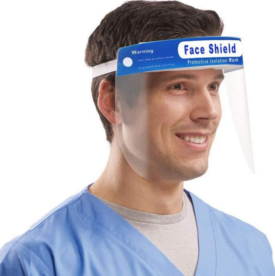 Face Shield without Foam - Pack of 5 ($2.98 per mask)