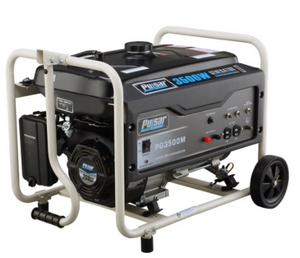 GAS 3500W GENERATOR RATED 3000W CARB