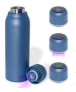 Load image into Gallery viewer, Double Walled Cooling UV Sanitizing Bottle