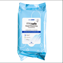 Load image into Gallery viewer, BioMiracle Cleansing Hand Towelettes  62% Alcohol - 20Ct or 60Ct  Case Qty's Only