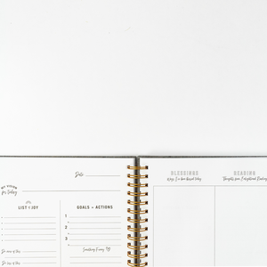 Daily Intentional Life Journal- Cream