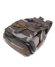 Load image into Gallery viewer, Renegade Camo Canvas Backpack