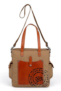 Super Horse Leather Convertible Tote