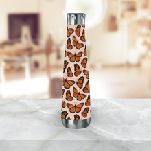 Load image into Gallery viewer, Monarch Butterfly Water Bottle
