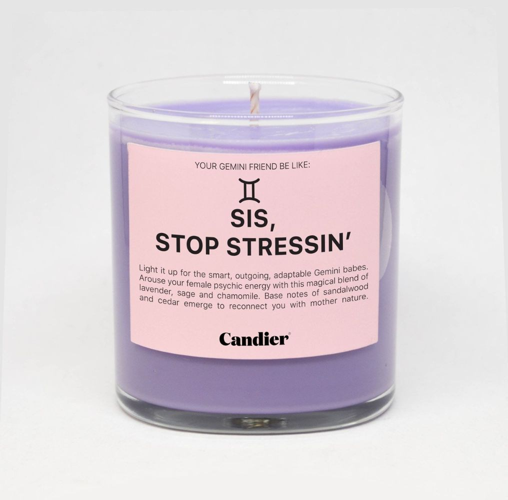 Sis, Stop Stressin' Candle