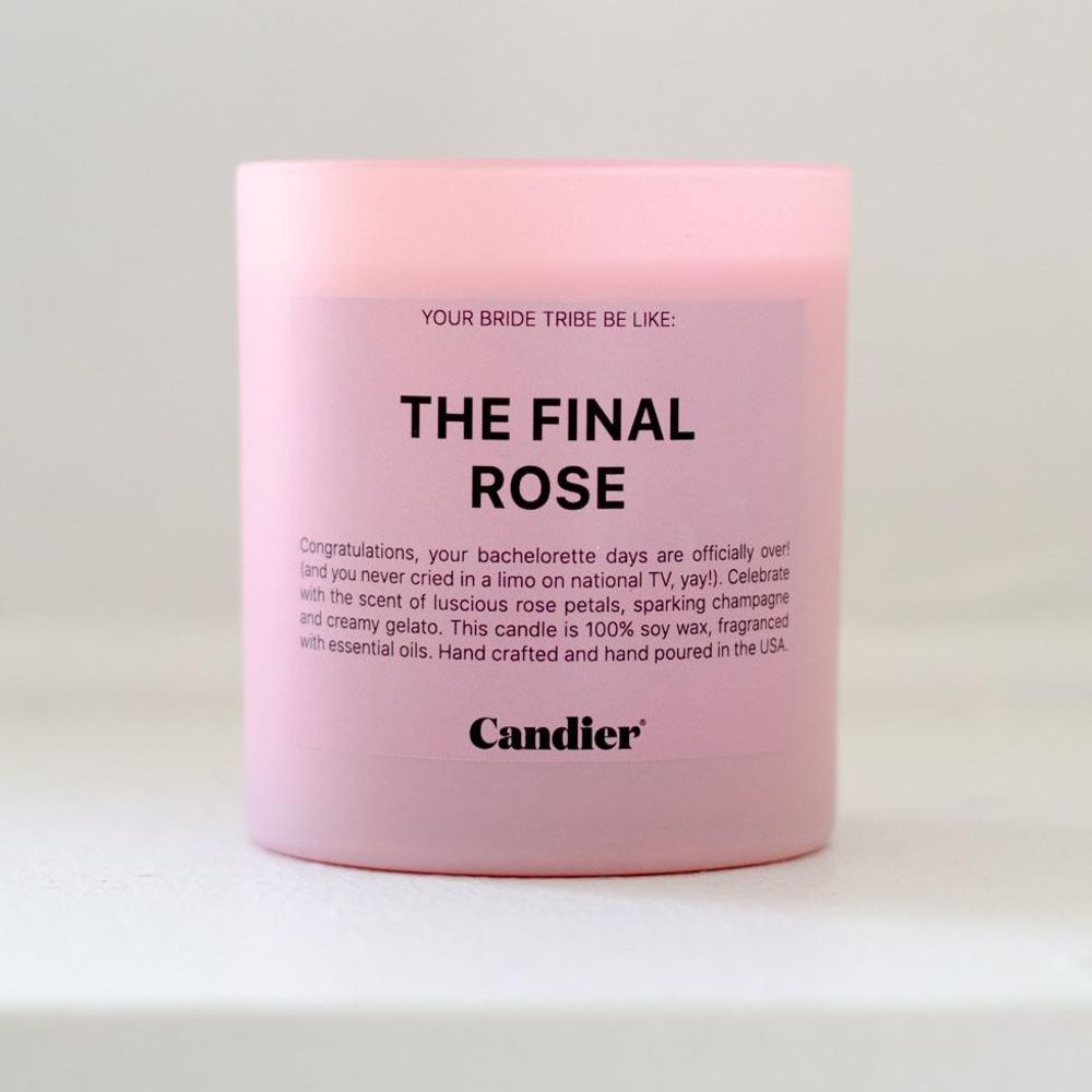 The Final Rose Candle