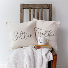 Load image into Gallery viewer, Better Together Cotton Canvas Pillow Covers, 2-Pack