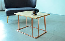 Load image into Gallery viewer, Copper & Maple Coffee Table