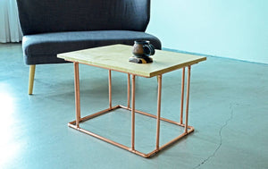 Copper & Maple Coffee Table