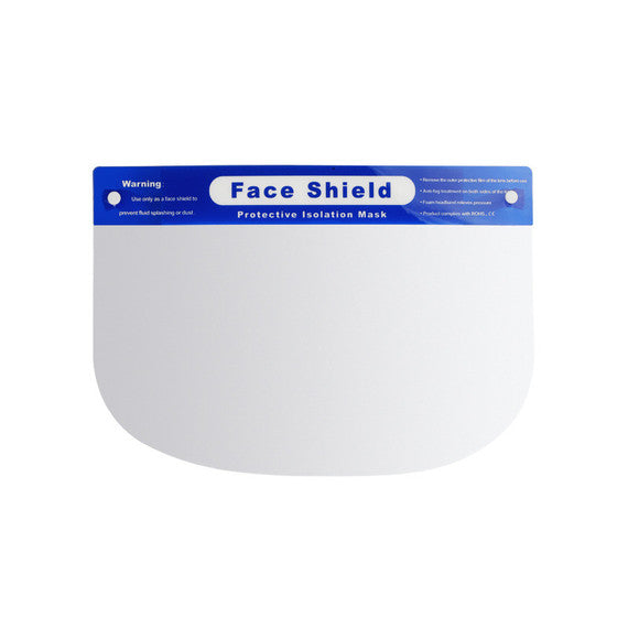 Face Shield with Foam - Pack of 5 ($2.98 per mask)