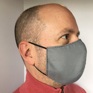 Reusable Face Masks for Adult (Large) - Grey