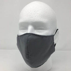 Reusable Face Masks for Adults (Regular) - Grey
