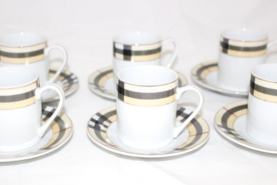 Designer Style 12 Piece Coffee Set