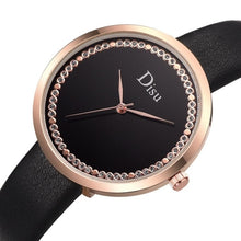 Load image into Gallery viewer, Women's Watches Top Brand Fashion Womens Ladies Simple Watches Zegarek Damsk iLeather Analog Quartz Wrist Watch clock saat Gift