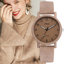 Load image into Gallery viewer, Top Brand Women's Watches Fashion Leather Wrist Watch Women Watches Ladies Watch Clock Gift zegarek damski Relojes Mujer 2019