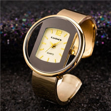 Load image into Gallery viewer, Fashion Gold Stainless Steel Women's Bracelet Bangle Watches 2019 Trends Luxury Brand Ladies Jewelry Watch Bayan Kol Saati Clock
