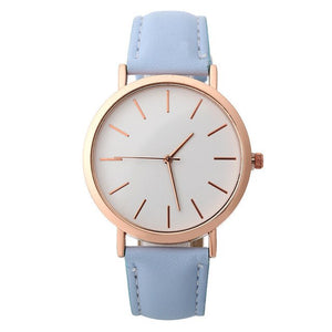 2019 Luxury Brand Women Watch Ultra Thin Leather Band Quartz Watch Fashion Lovers Wristwatch Ladies Watches Zegarek Damski A4