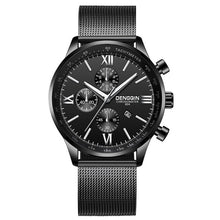 Load image into Gallery viewer, DENGQIN Men's Wrist Watch Stainless Steel Casual Quartz Analog Date Watch Man watches mens 2019 men wristwatch clock