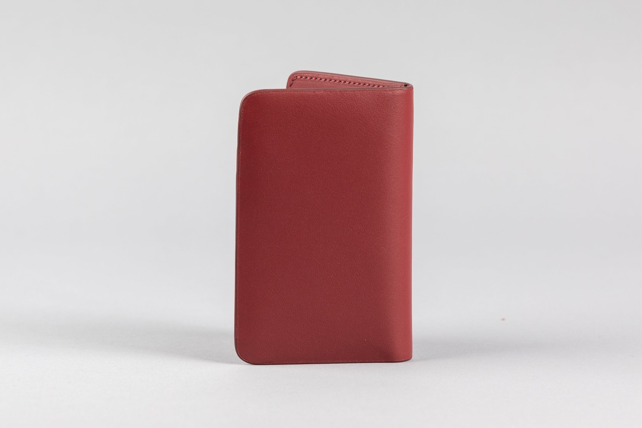 Maroon Calf Matte Card Holder (2053K)