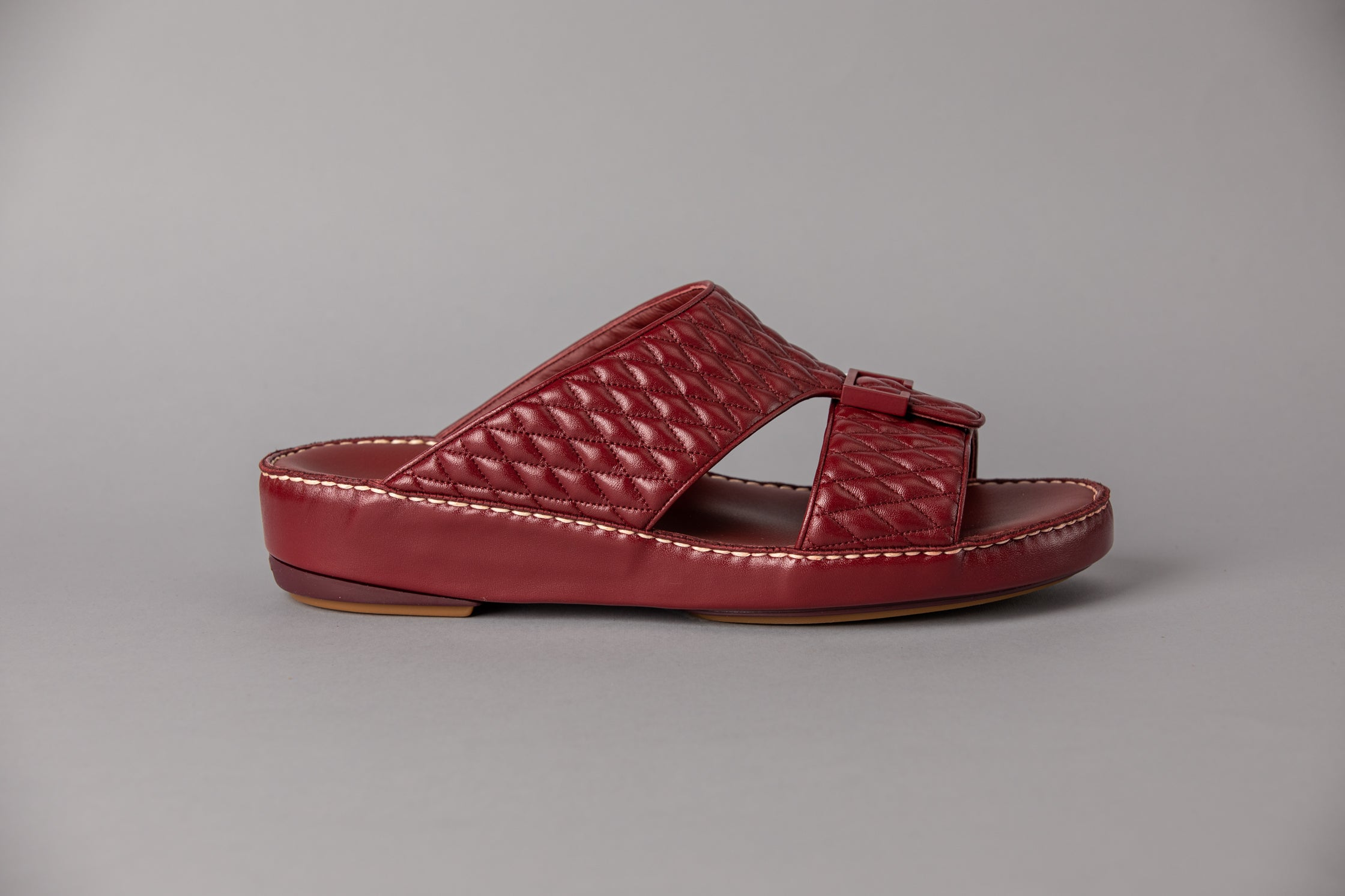 Aldo Diamond Red Wine Arabic Sandal (4061DA)