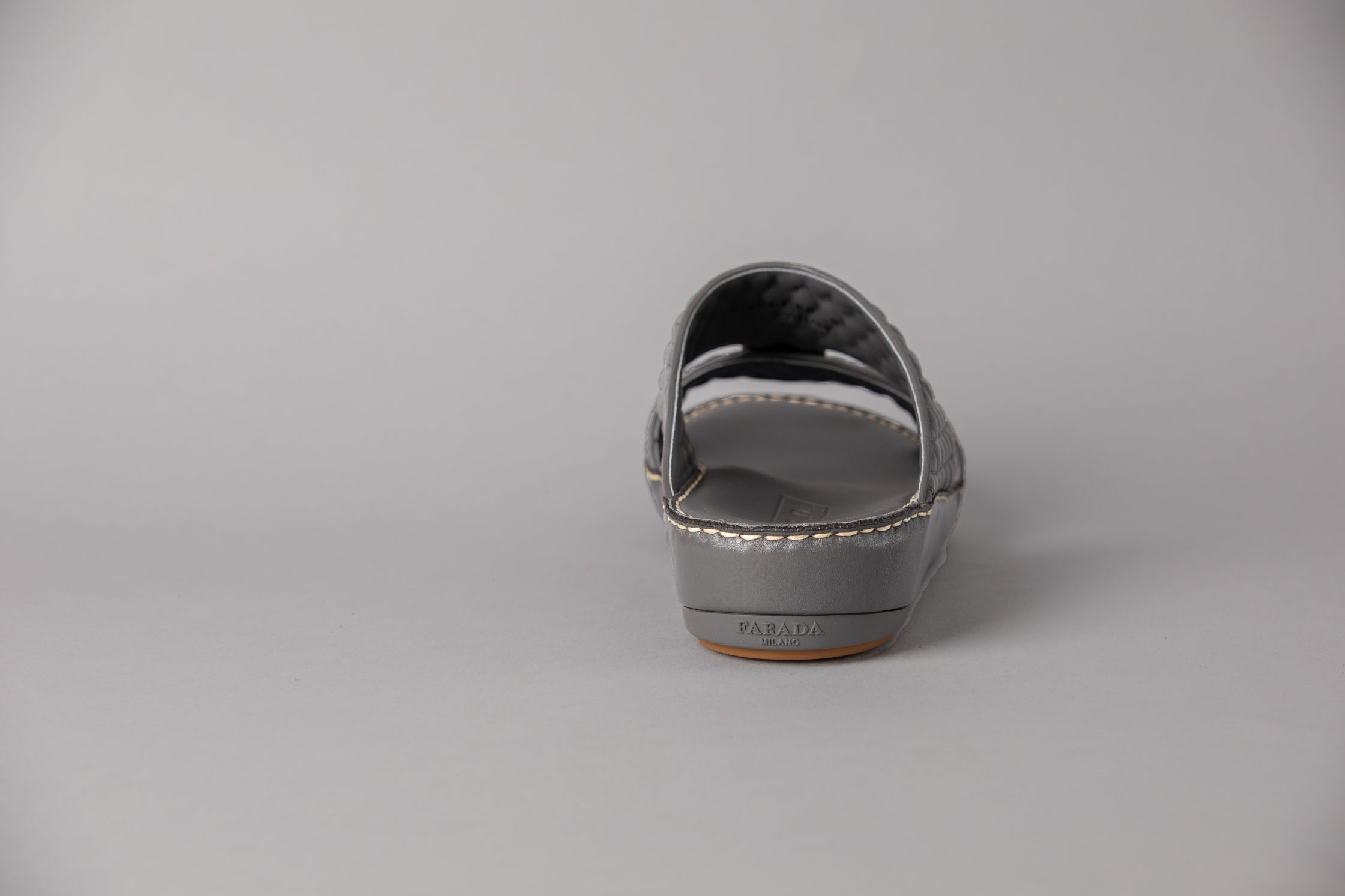 Aldo Diamond Dark Grey Arabic Sandal (4061)