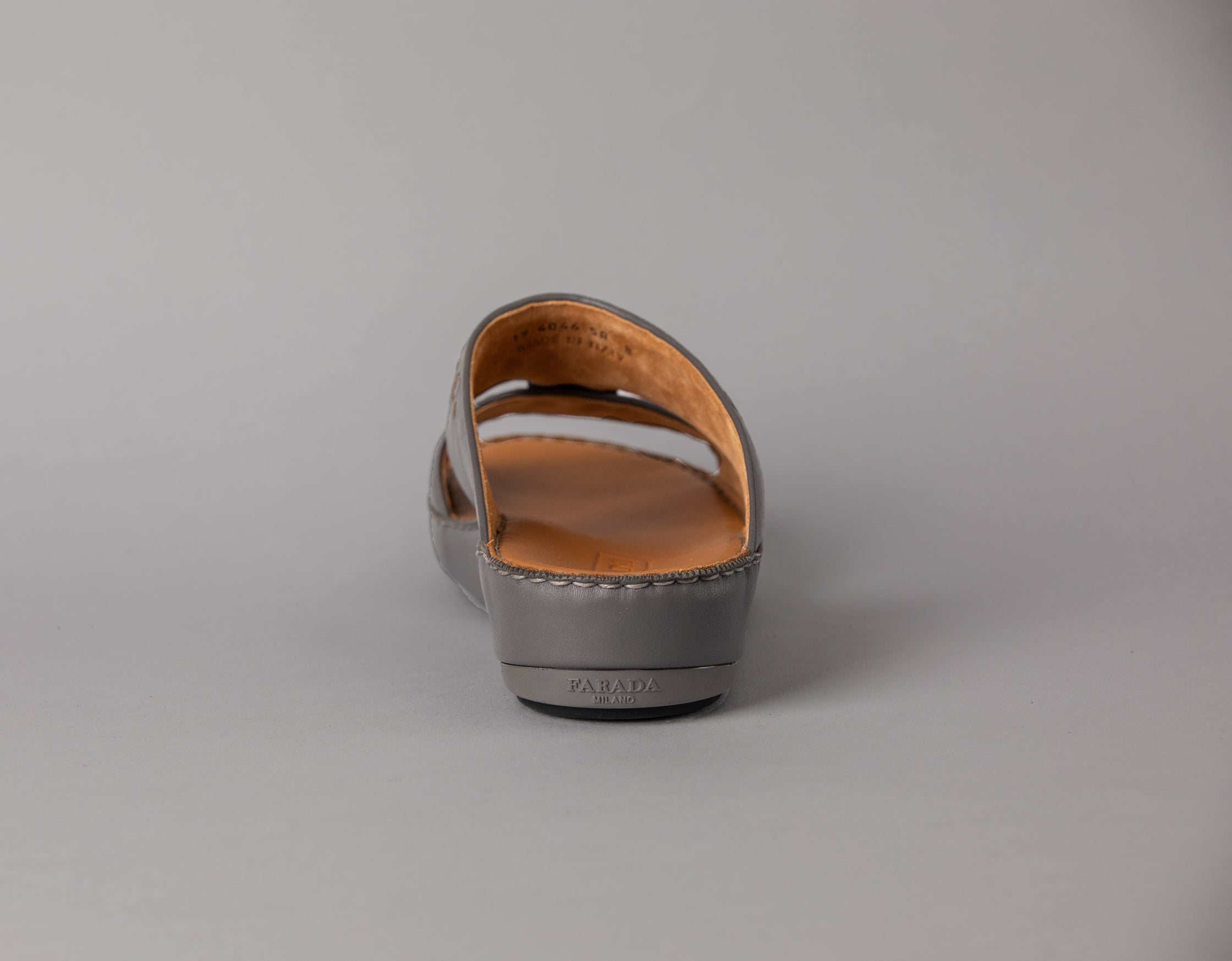 Aldino Grey Half-Weave Arabic Sandal (4046WE)