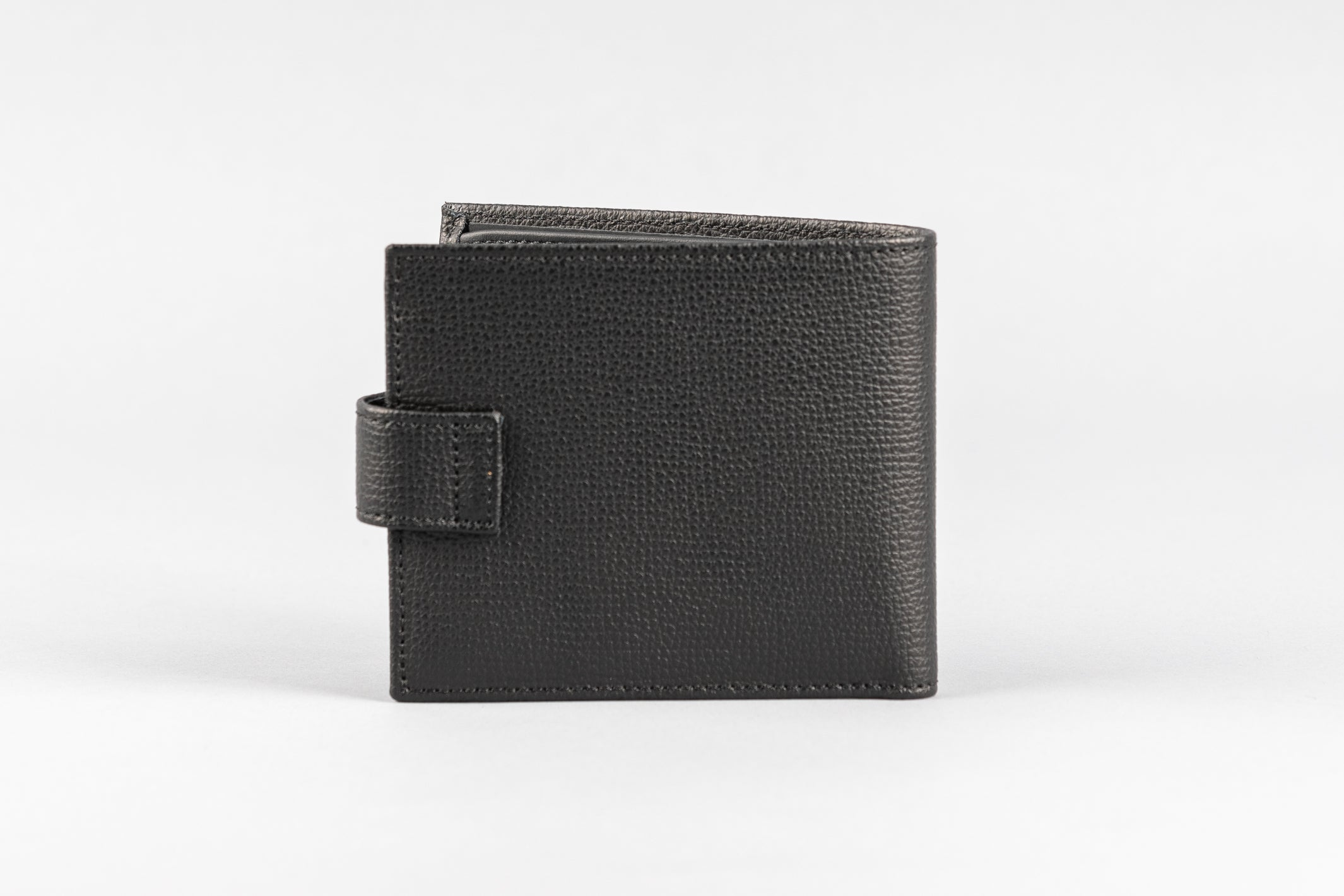 Black Calf Crumbs Wallet (2006/L)