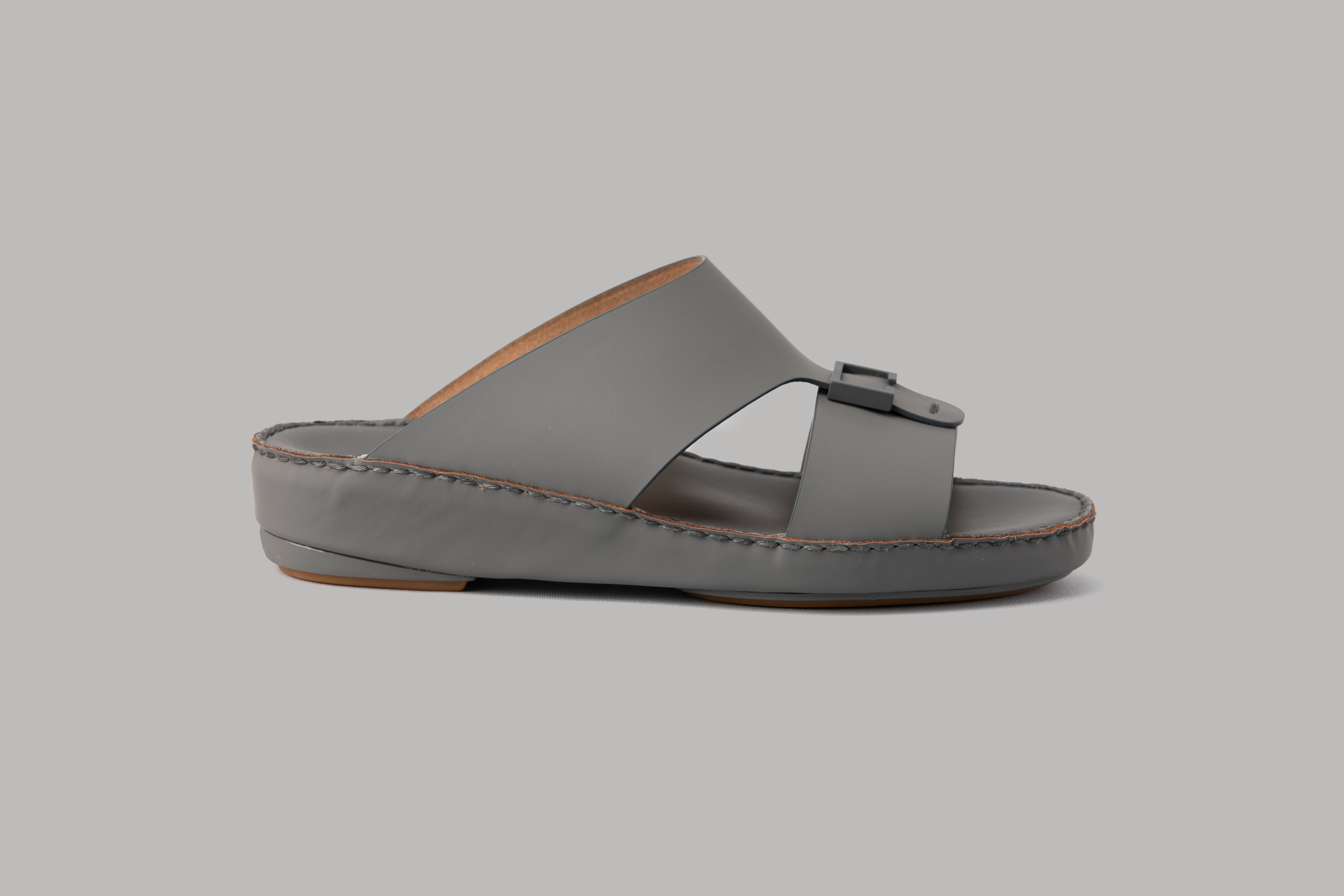 Aldo Diamond Dark Grey Arabic Sandal (4061AA)
